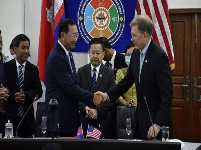 Cambodia Kingdom signs deal with US on patents