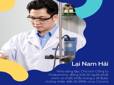 """Khẩu trang y tế """"Made in Vietnam"""" diệt virus Corona đầu tiên trên thế giới"""